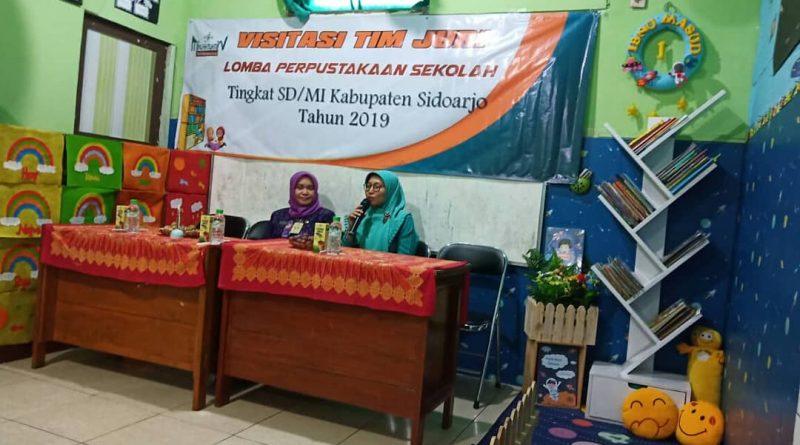 Lomba Perpustakaan Sekolah Tingkat SD/MI Kabupaten Sidoarjo